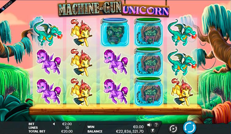 Слот Machine Gun Unicorn