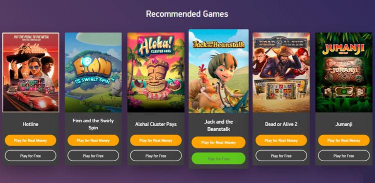 Демо-версии игр на сайте