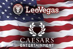 Совместная работа LeoVegas и Caesars Entertainment