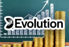 Рост выручки Evolution