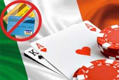 В Ирландии лоббируют запрет оплаты азартных игр
