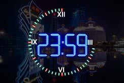 Все игровые автоматы казино Макао должны быть оснащены цифровыми часами