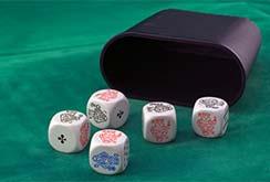 Правила игры в покер на костях